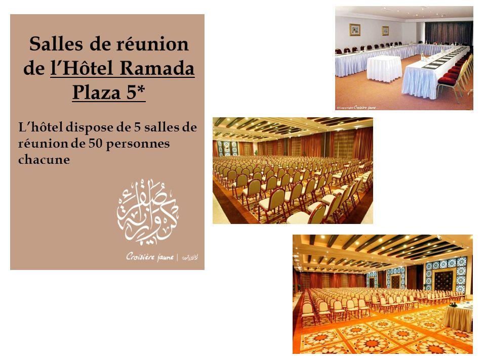Salles de réunion de l'Hôtel Ramada Plaza 5*