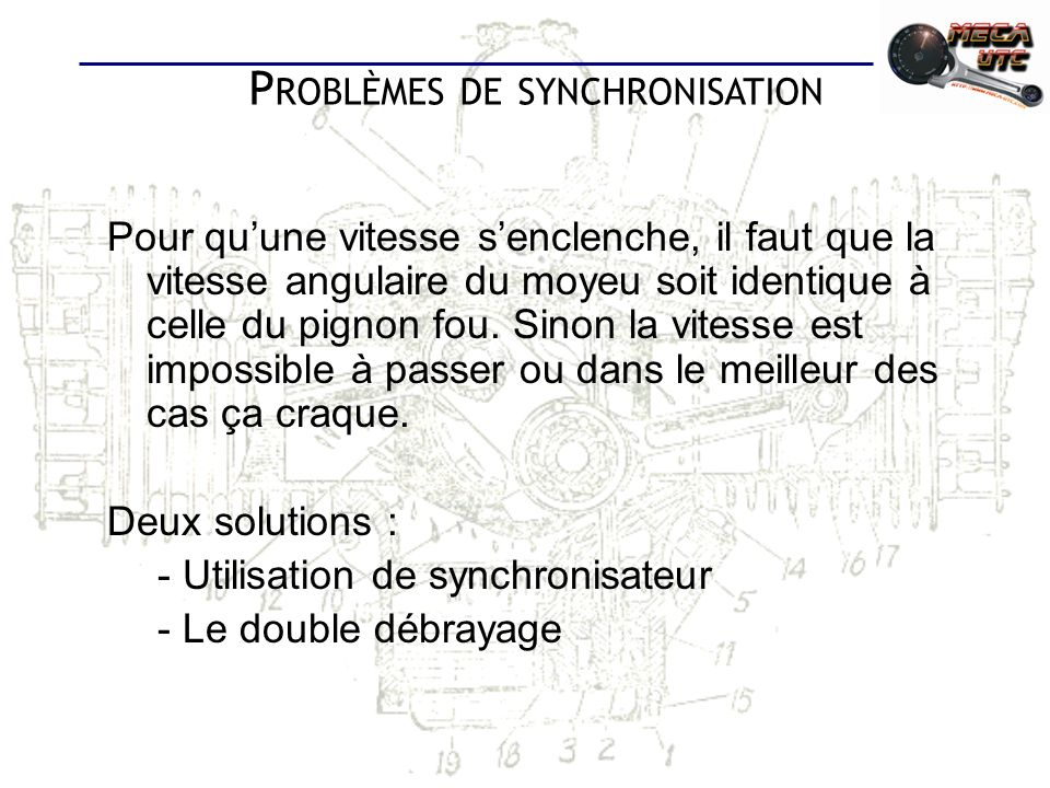 Problèmes de synchronisation