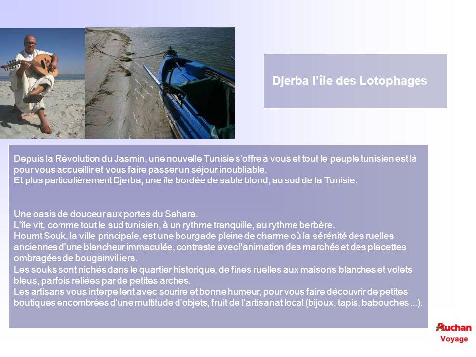 Djerba l'île des Lotophages
