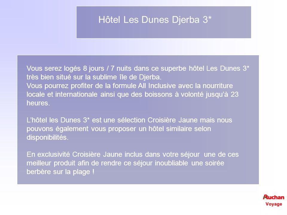 Hôtel Les Dunes Djerba 3*