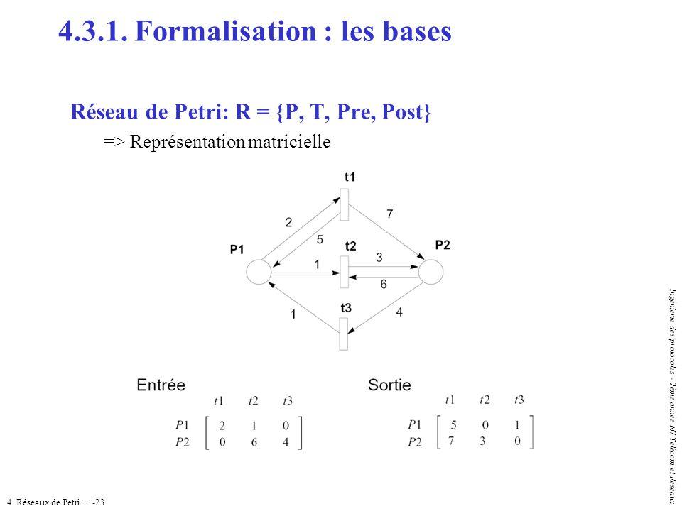 4.3.1. Formalisation : les bases