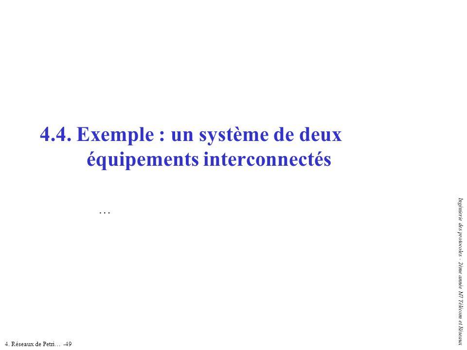 4.4. Exemple : un système de deux équipements interconnectés