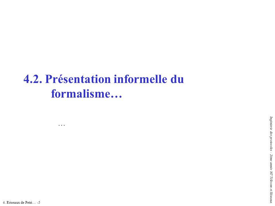 4.2. Présentation informelle du formalisme…