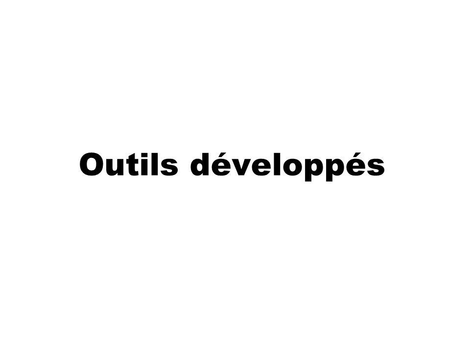 Outils développés