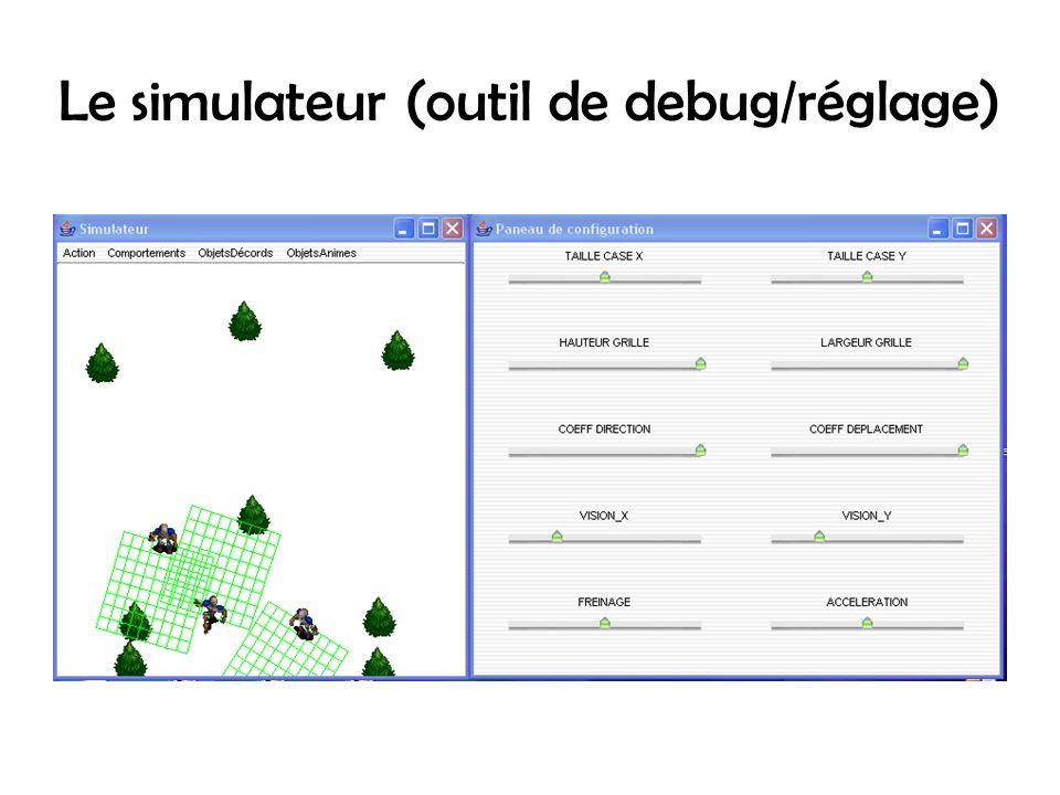 Le simulateur (outil de debug/réglage)
