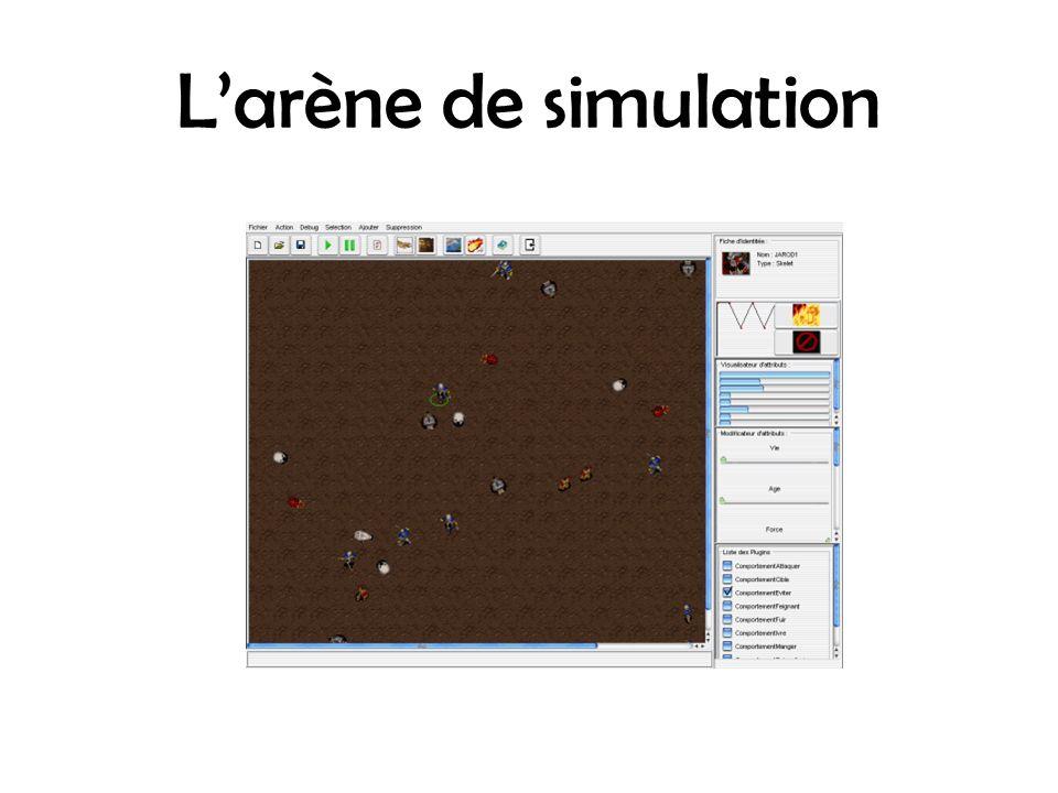 L'arène de simulation