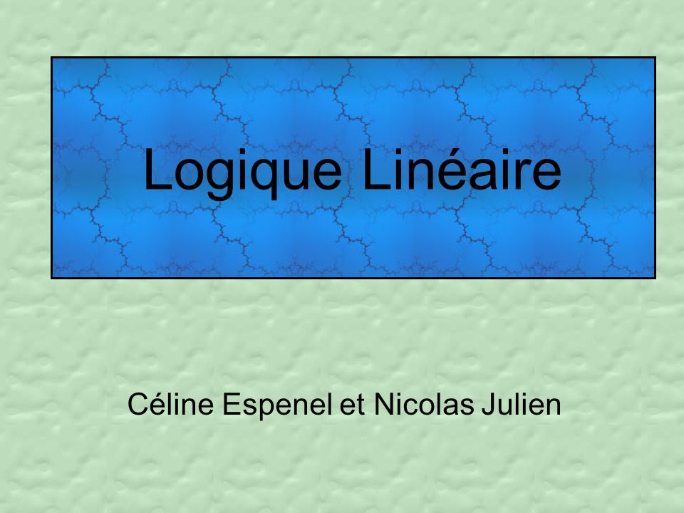 Céline Espenel et Nicolas Julien