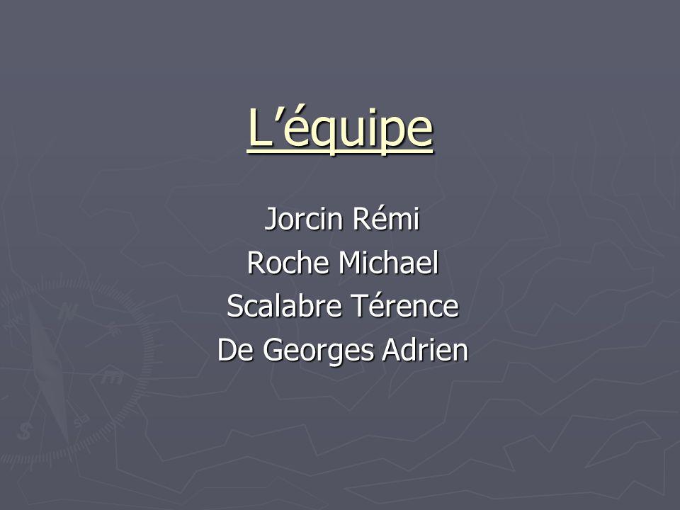 Jorcin Rémi Roche Michael Scalabre Térence De Georges Adrien