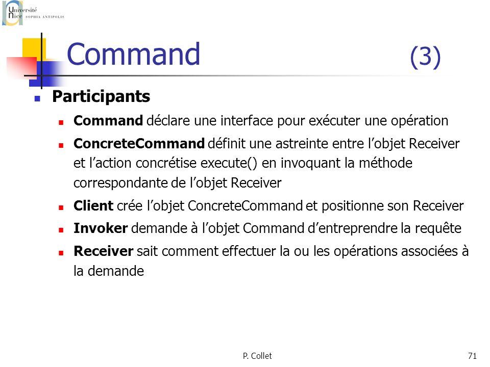 Command (3) Participants