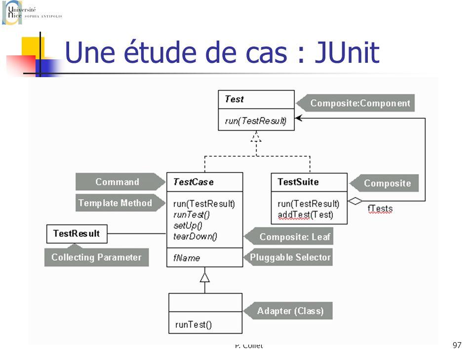 Une étude de cas : JUnit P. Collet