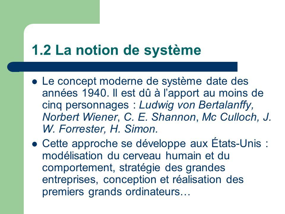 1.2 La notion de système