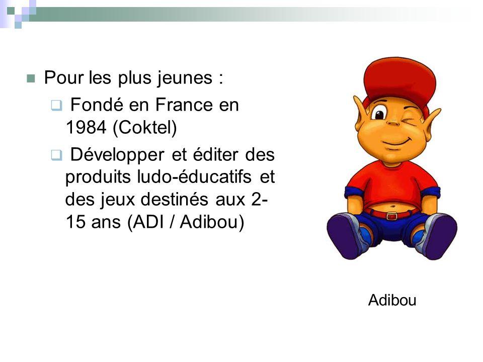 Fondé en France en 1984 (Coktel)