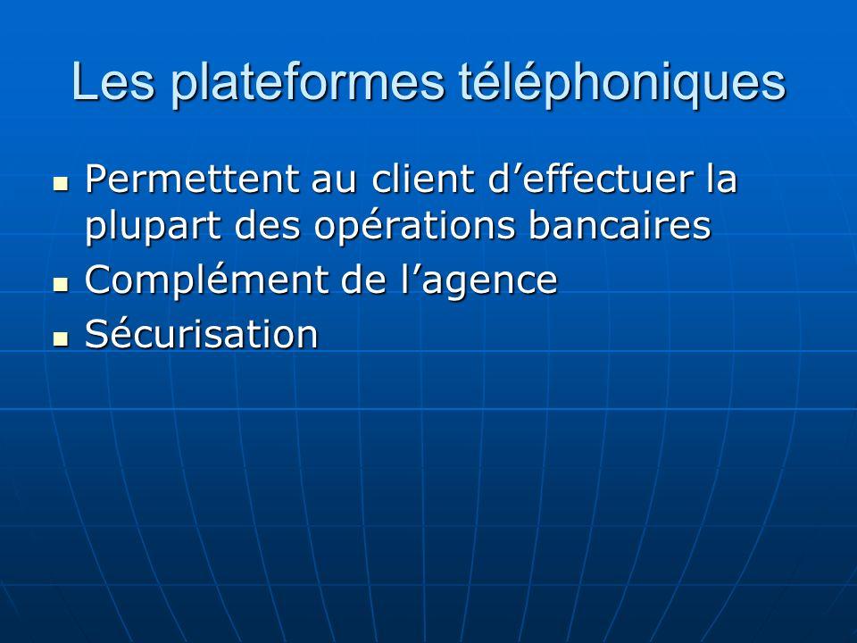 Les plateformes téléphoniques