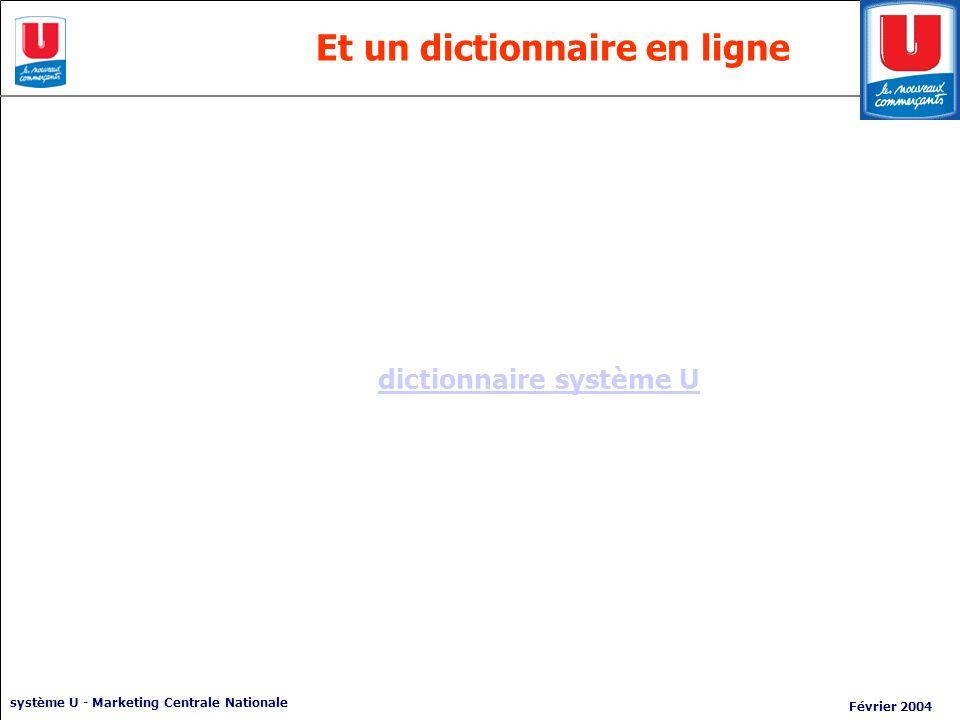 Et un dictionnaire en ligne