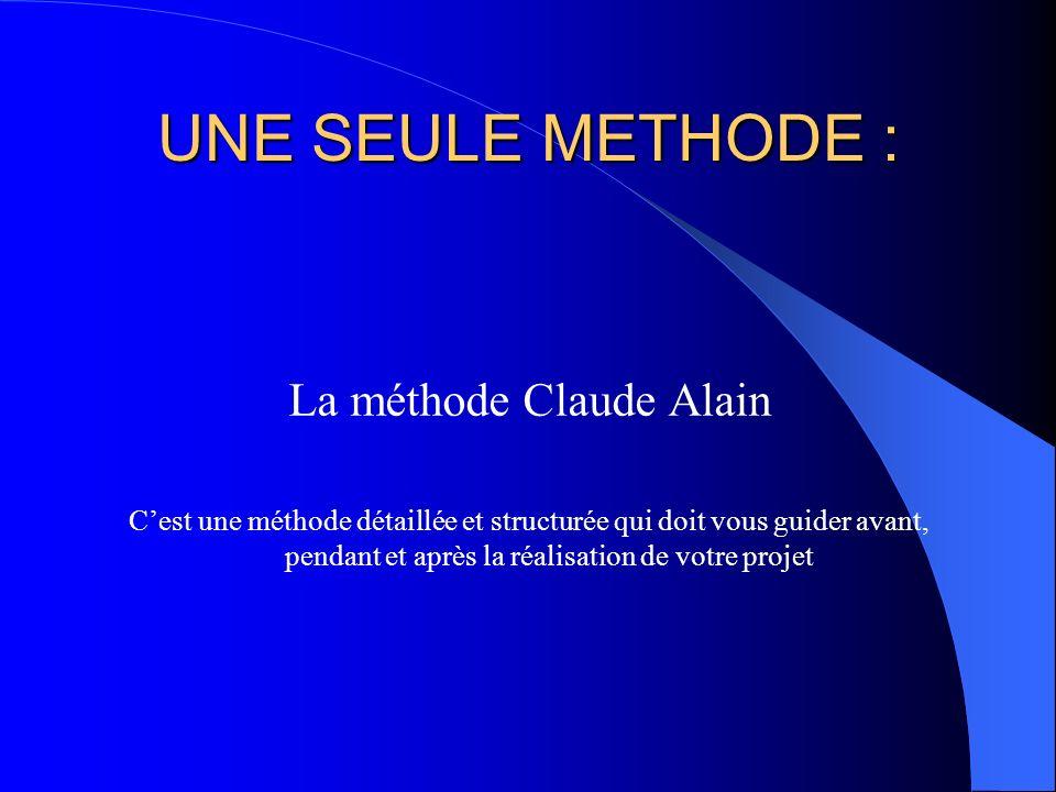 La méthode Claude Alain