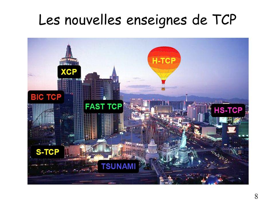 Les nouvelles enseignes de TCP