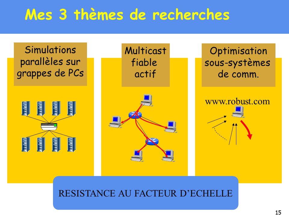 RESISTANCE AU FACTEUR D'ECHELLE