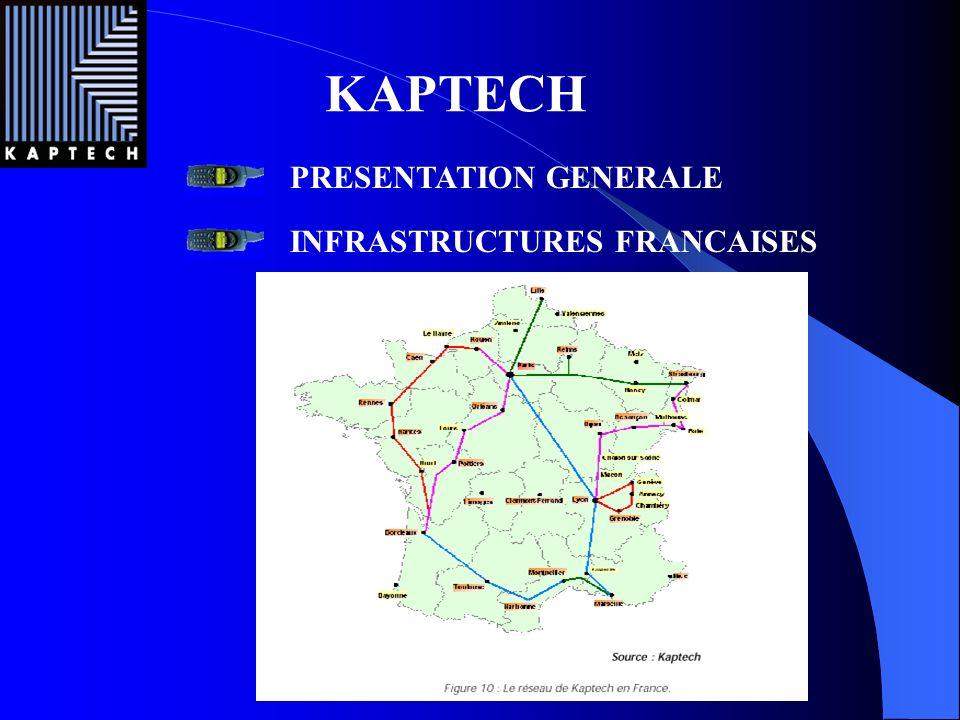 KAPTECH PRESENTATION GENERALE INFRASTRUCTURES FRANCAISES