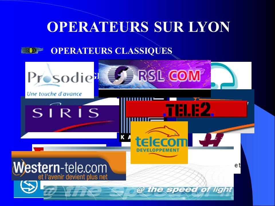 OPERATEURS SUR LYON OPERATEURS CLASSIQUES BELGACOM A TELECOM