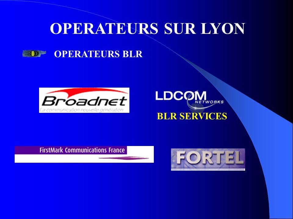 OPERATEURS SUR LYON OPERATEURS BLR BLR SERVICES