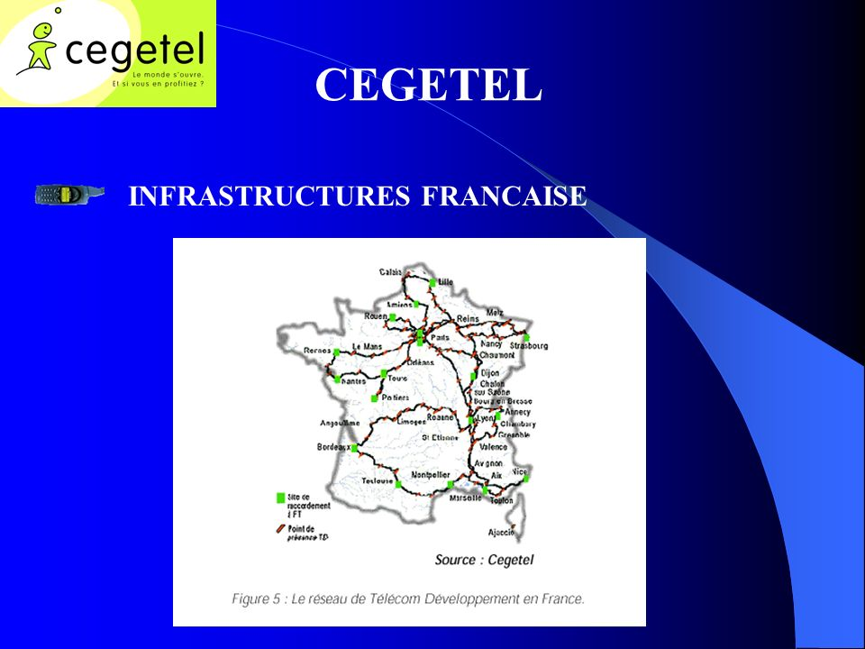 CEGETEL INFRASTRUCTURES FRANCAISE