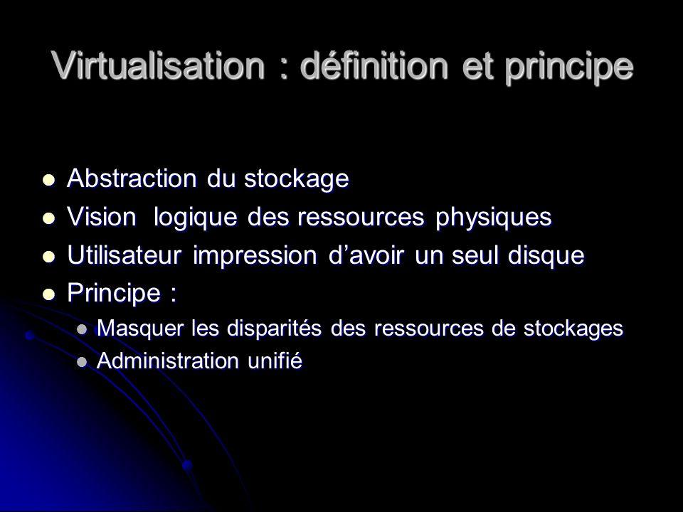 Virtualisation : définition et principe