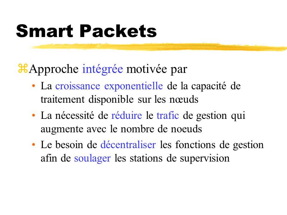 Smart Packets Approche intégrée motivée par