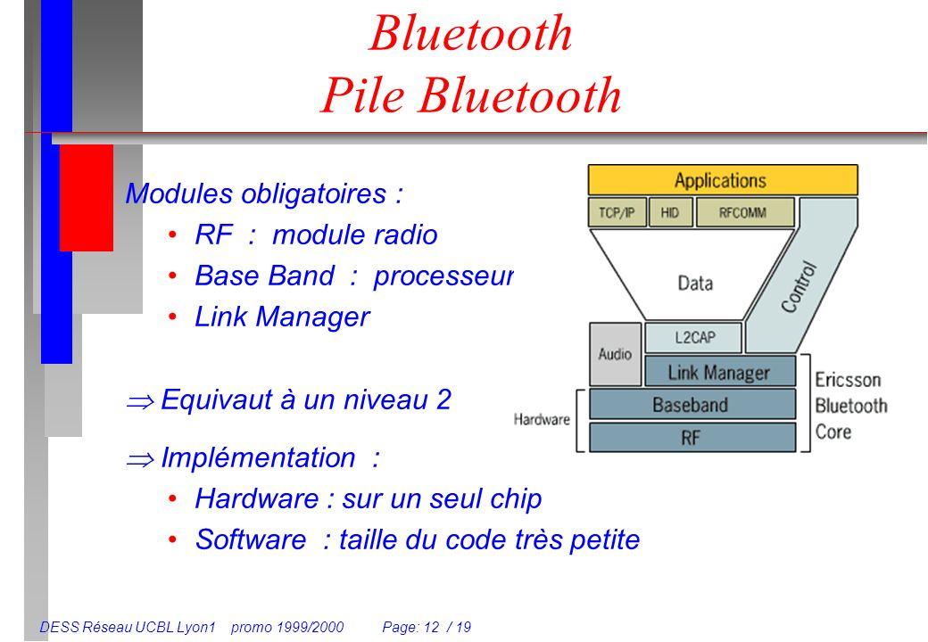 Bluetooth Pile Bluetooth