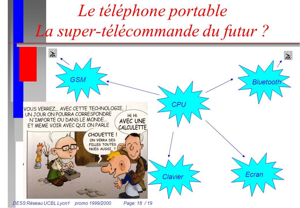 Le téléphone portable La super-télécommande du futur