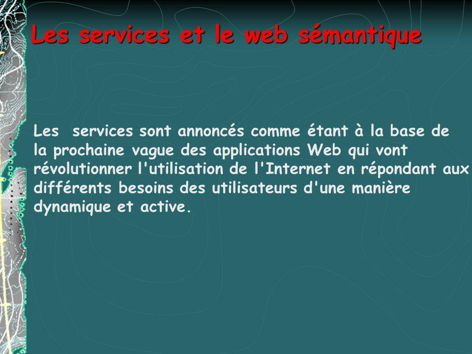 Les services et le web sémantique