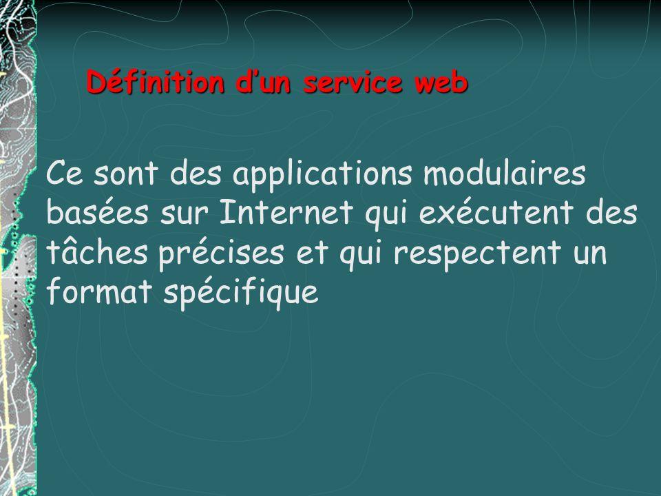 Définition d'un service web