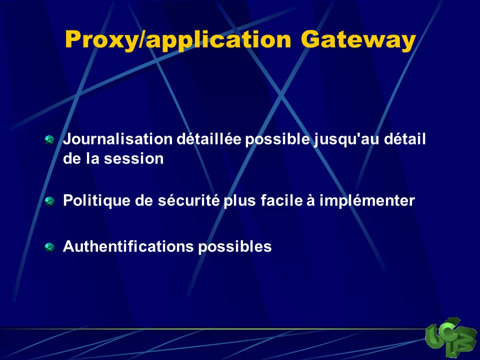 Proxy/application Gateway