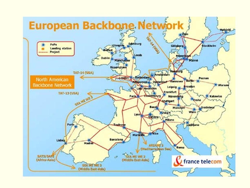 Fin 2001, ses 20 000 km connecteront les 40 villes les plus importantes de 16 pays européens.