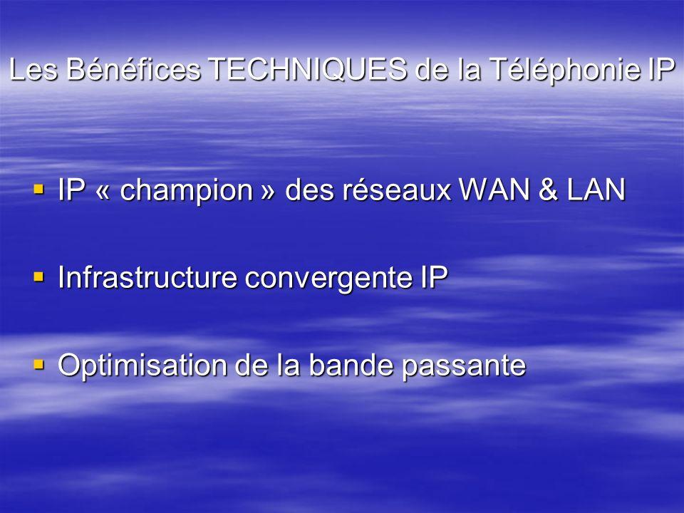 Les Bénéfices TECHNIQUES de la Téléphonie IP