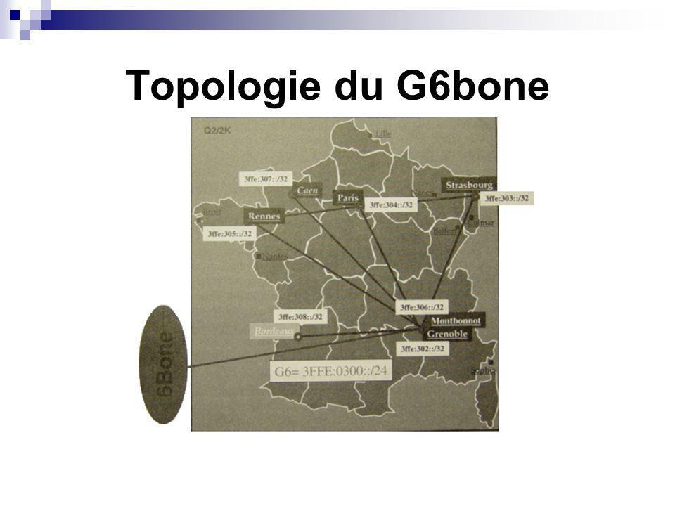 Topologie du G6bone