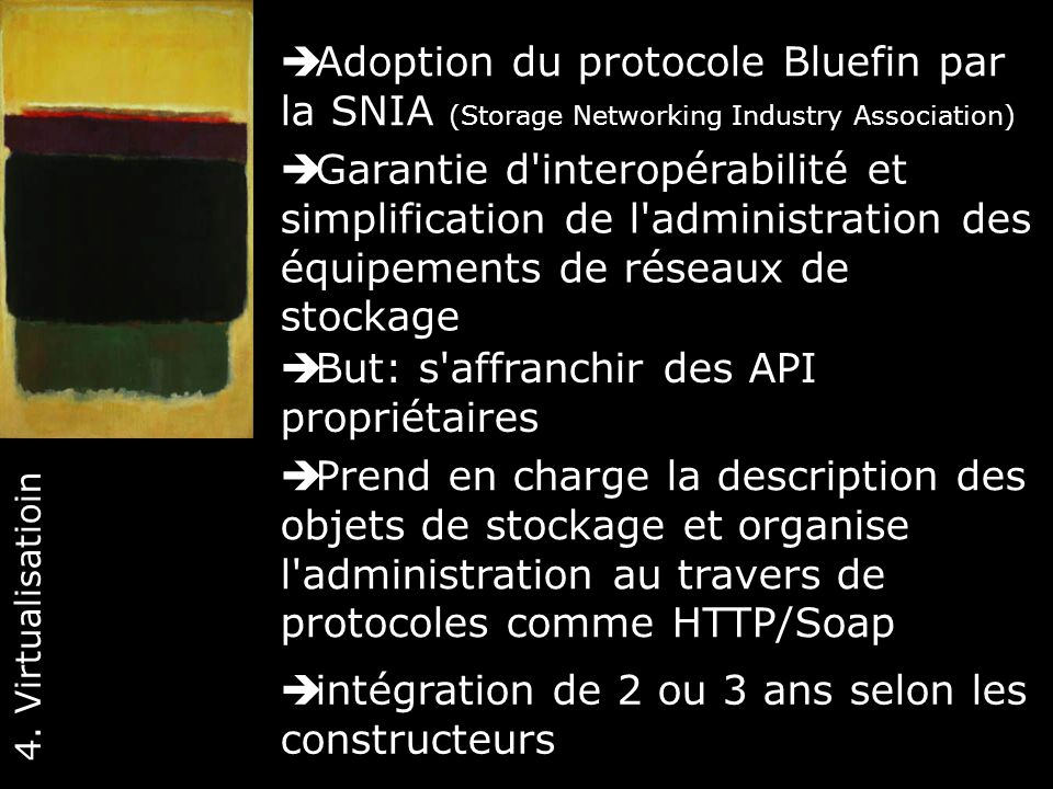 Adoption du protocole Bluefin par