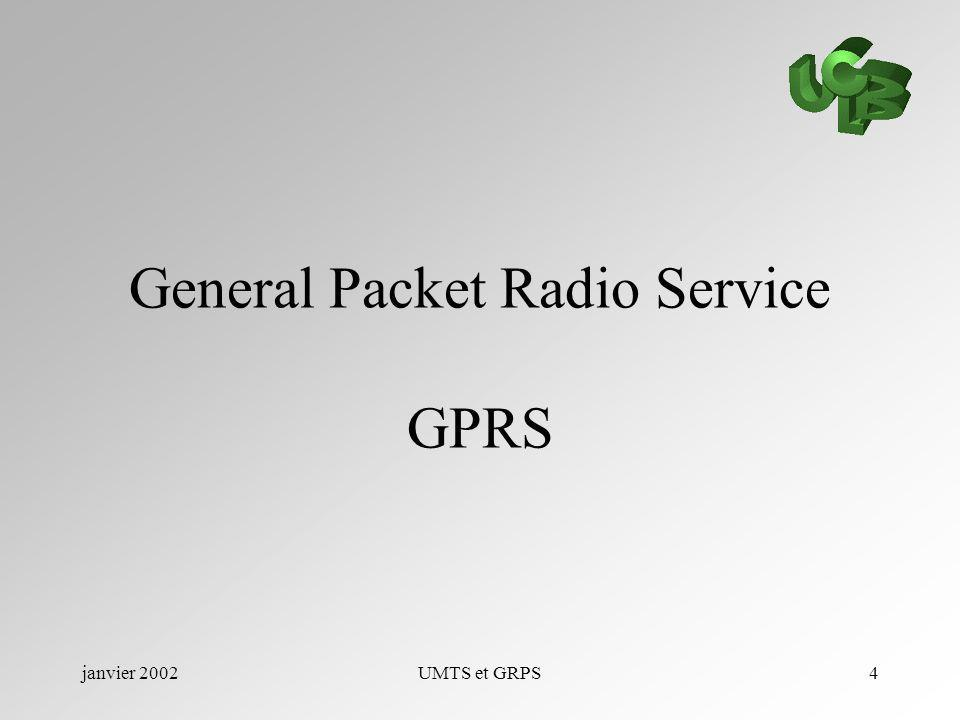 General Packet Radio Service GPRS