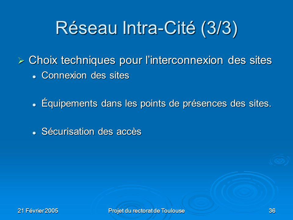 Projet du rectorat de Toulouse