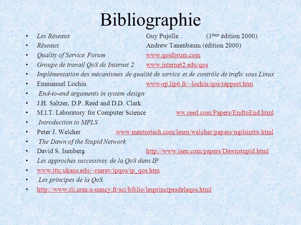 Bibliographie Les Réseaux Guy Pujolle (3ème édition 2000)