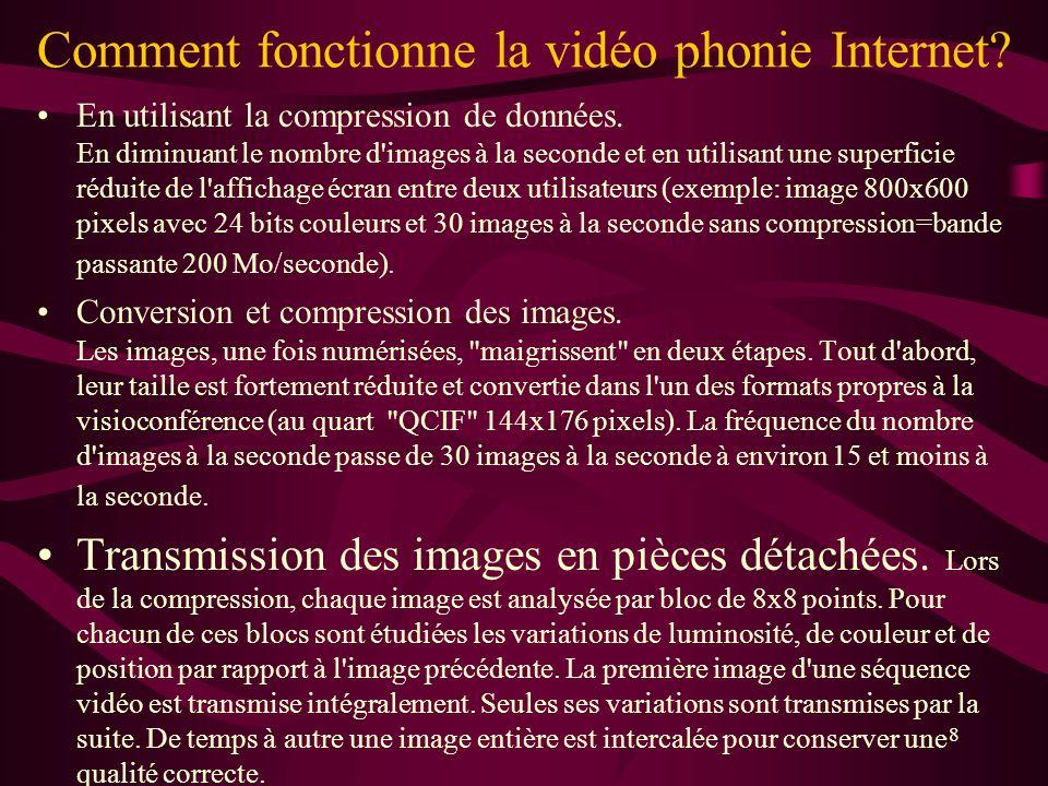 Comment fonctionne la vidéo phonie Internet