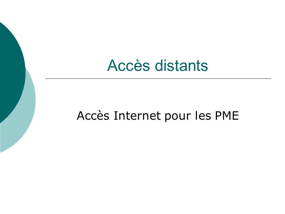 Accès Internet pour les PME