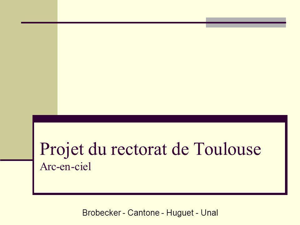 Projet du rectorat de Toulouse Arc-en-ciel