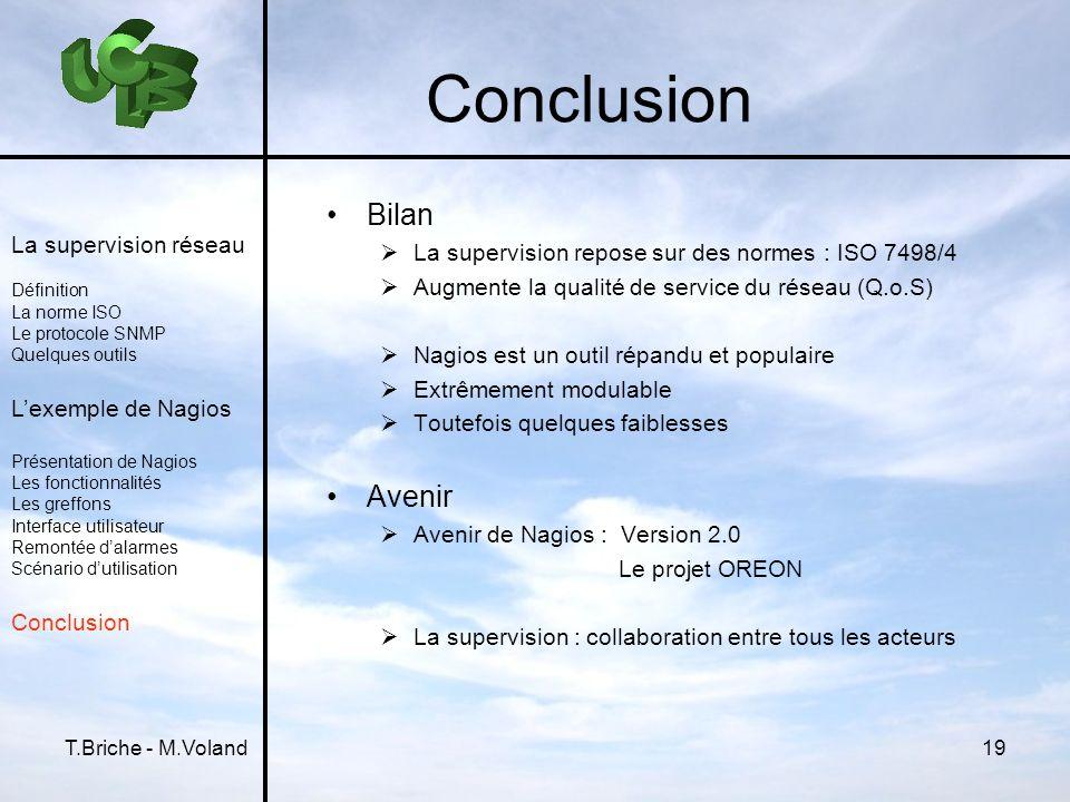 Conclusion Bilan Avenir