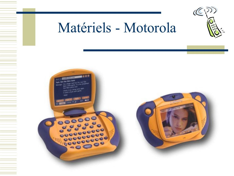 Matériels - Motorola
