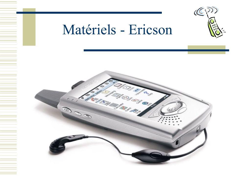 Matériels - Ericson