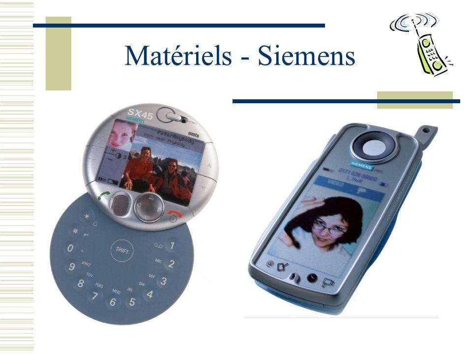 Matériels - Siemens