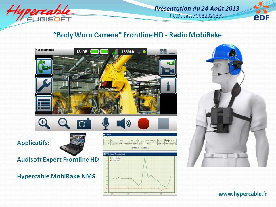 Body Worn Camera Frontline HD - Radio MobiRake