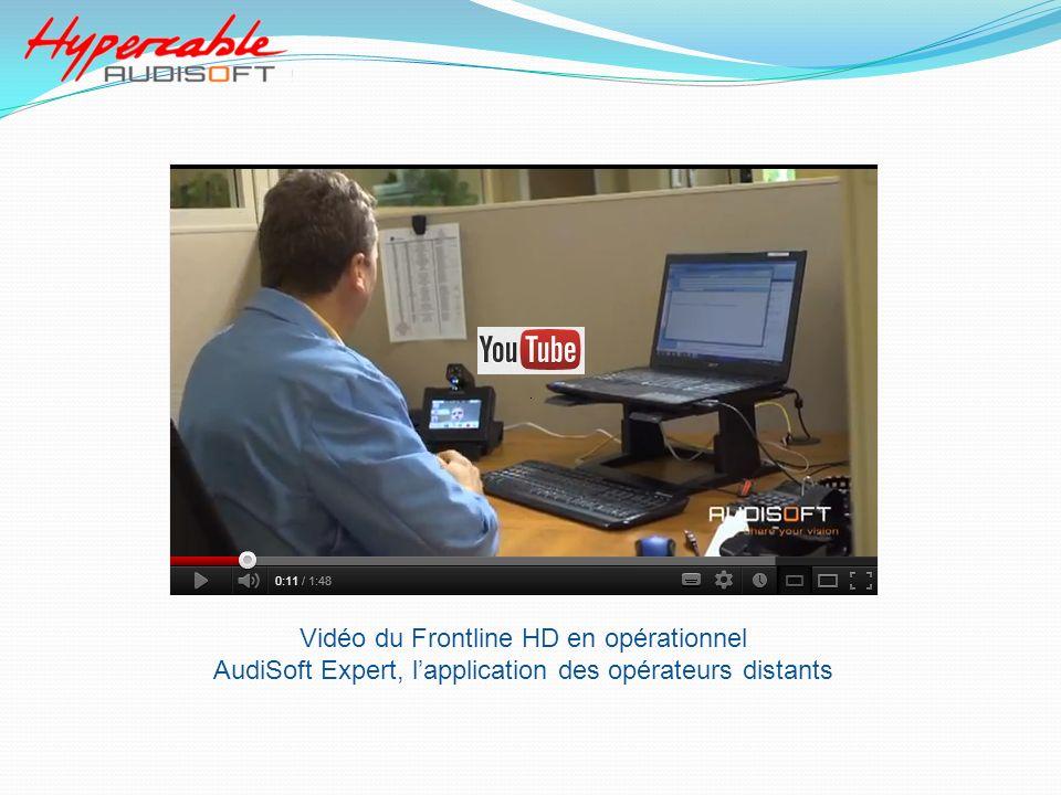 Vidéo du Frontline HD en opérationnel