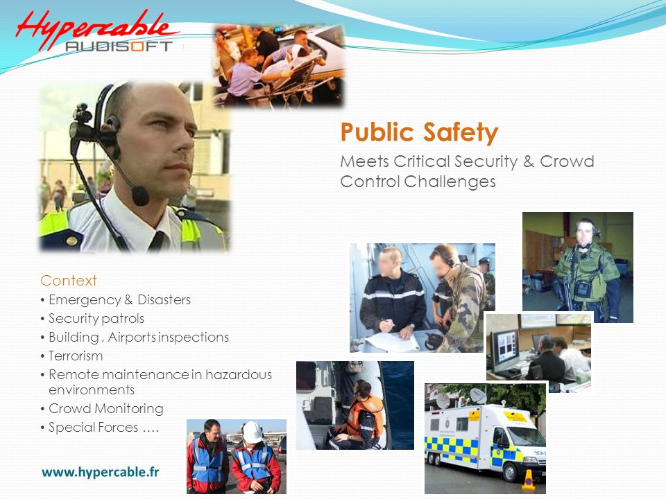 Public Safety Meets Critical Security & Crowd Control Challenges