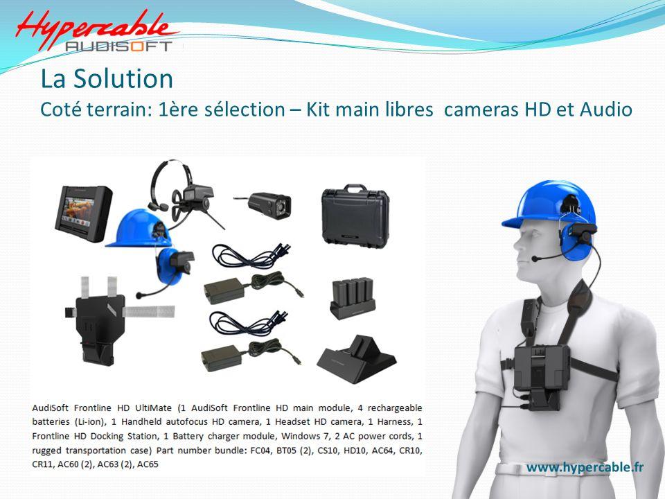 La Solution Coté terrain: 1ère sélection – Kit main libres cameras HD et Audio